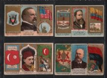 Tobacco Cigarette cards 1888 folder set of 51 RARE Duke